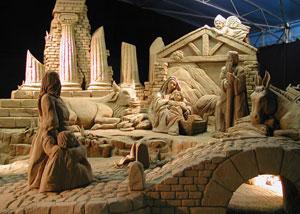 Olasz karácsony - Betlehem homokból