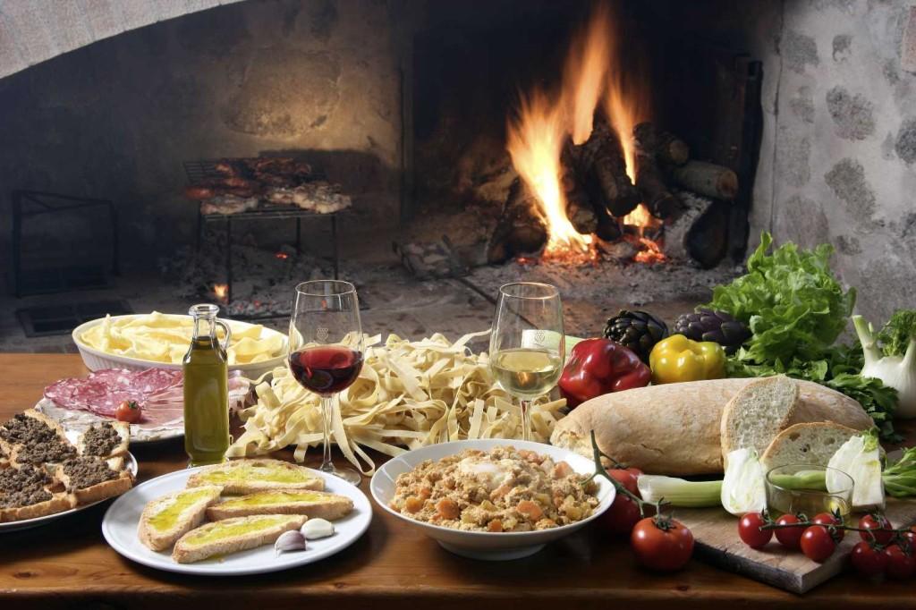 tavola - asztal olaszul